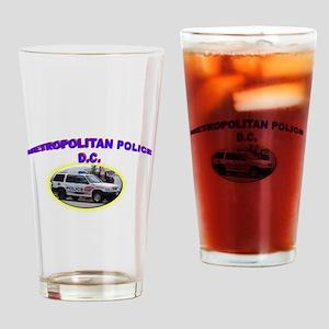 Washington D C Polic Drinking Glass