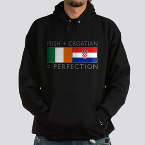 Irish Croatian flag Sweatshirt