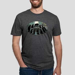 Howling Wolf Pack Mens Tri-blend T-Shirt