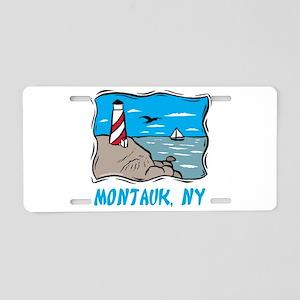 Montauk, NY Aluminum License Plate