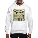 """Guns & Patriots"" Hooded Sweatshirt"