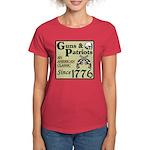 """Guns & Patriots"" Women's Dark T-Shi"