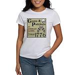 """""""Guns & Patriots"""" Women's T-Shirt"""