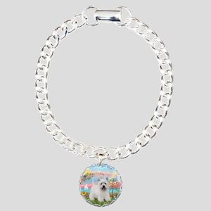 AngelStar-Westie5 Charm Bracelet, One Charm