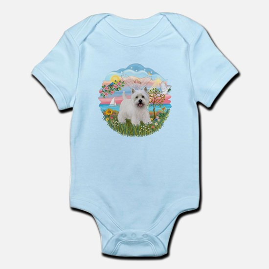 AngelStar-Westie5 Infant Bodysuit