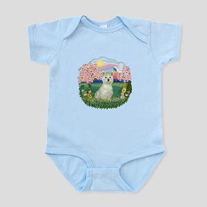 Blossoms-Westie#8 Infant Bodysuit
