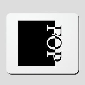 FOP Typography Mousepad
