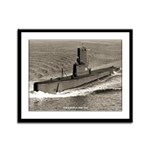 USS CAVALLA Framed Panel Print