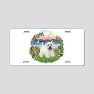 Garden-Shore-Westie#5 Aluminum License Plate