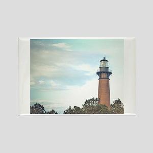Currituck Beach Light Rectangle Magnet