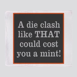 Die Clash Throw Blanket
