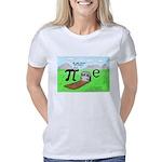 Pi_72 QED Gravestone (10x1 Women's Classic T-Shirt