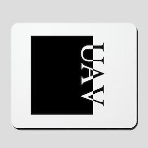 UAV Typography Mousepad