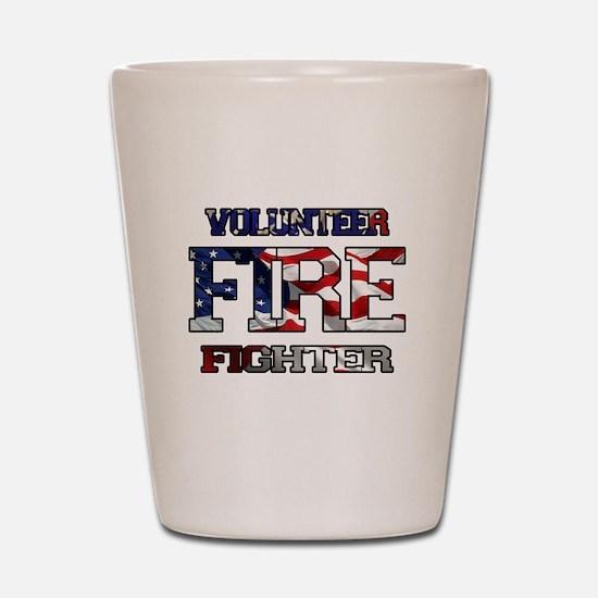 Volunteer Fire Fighter Shot Glass