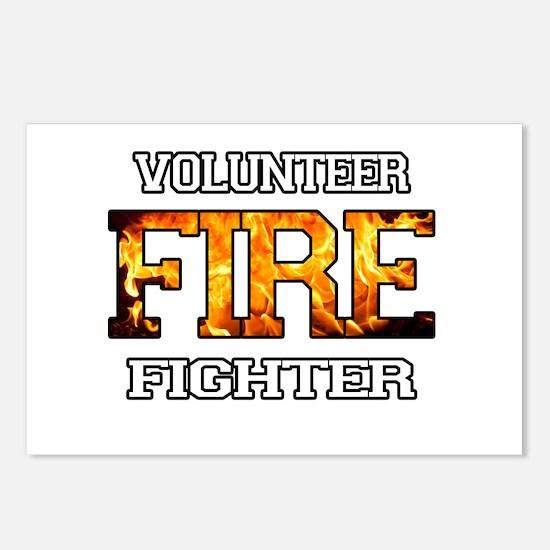 Volunteer Fire Fighter Postcards (Package of 8)