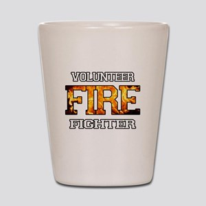Volunteer Fire Fighter Shot Glass