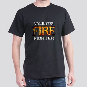 Volunteer Fire Fighter Dark T-Shirt