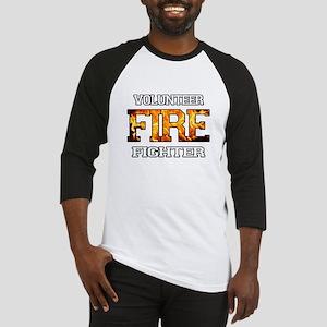 Volunteer Fire Fighter Baseball Jersey