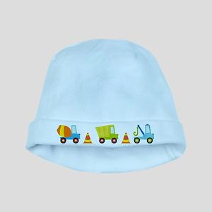 Construction Trucks Baby Beanie Hat