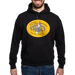 Yellow Logo Hoodie (dark)