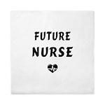 Future Nurse Queen Duvet