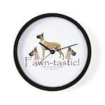 Dagmar Fawn 2 Wall Clock
