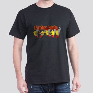 Spain Basketball Dark T-Shirt