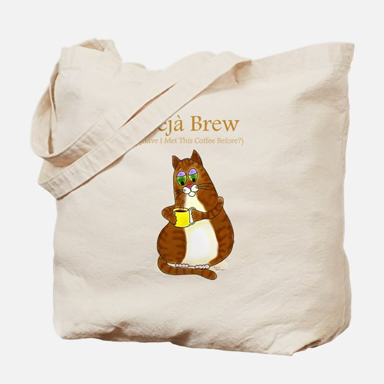 Deja Brew Tote Bag