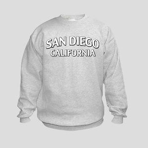 San Diego California Kids Sweatshirt
