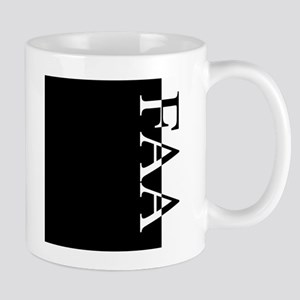 FAA Typography Mug