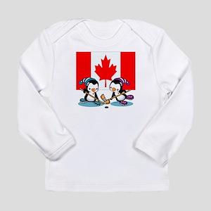 Ice Hockey Long Sleeve Infant T-Shirt