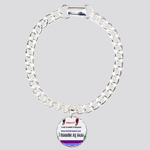 Mothers Day Mama Charm Bracelet, One Charm