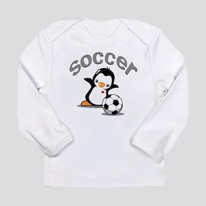 Soccer Long Sleeve Infant T-Shirt