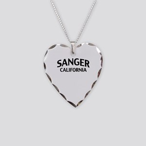 Sanger California Necklace Heart Charm