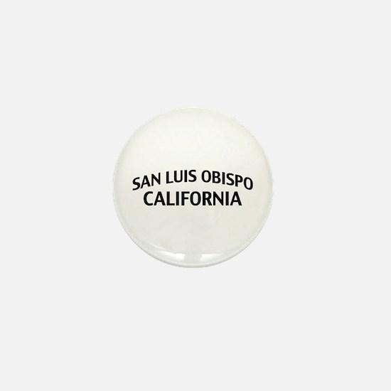 San Luis Obispo California Mini Button