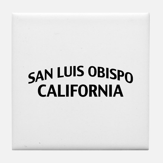 San Luis Obispo California Tile Coaster