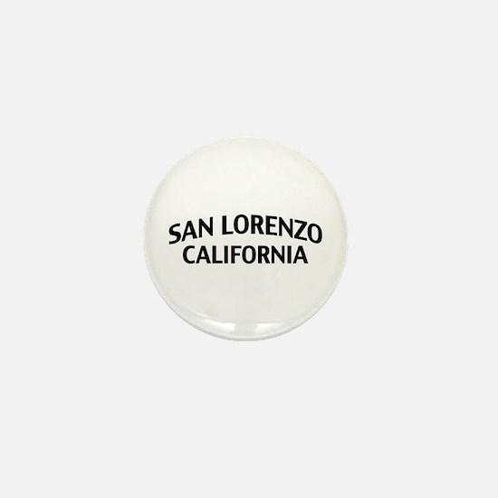 San Lorenzo California Mini Button