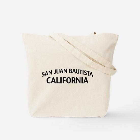 San Juan Bautista California Tote Bag