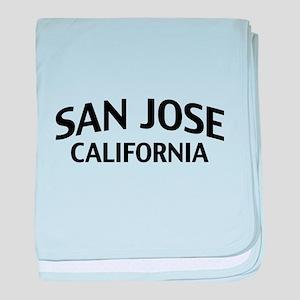 San Jose California baby blanket
