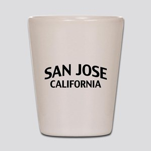 San Jose California Shot Glass