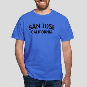 San Jose California Dark T-Shirt