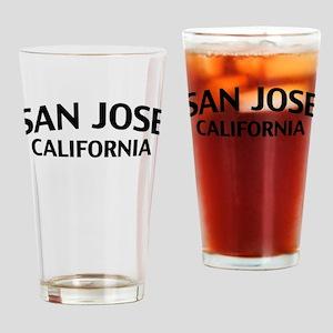 San Jose California Drinking Glass