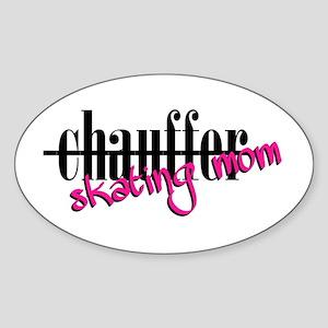 Chauffer Mom Sticker (Oval)