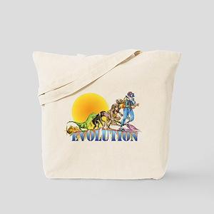 Scuba Evolution Tote Bag