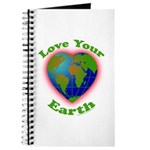 Love Your Earth Heart Journal