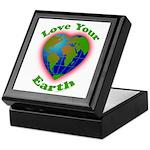 Love Your Earth Heart Keepsake Box