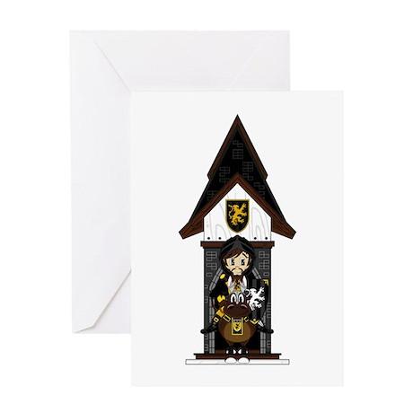 Medieval Knight on Horseback Greeting Card