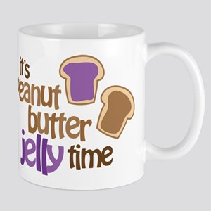 It's Peanut Butter Jelly Time Mug