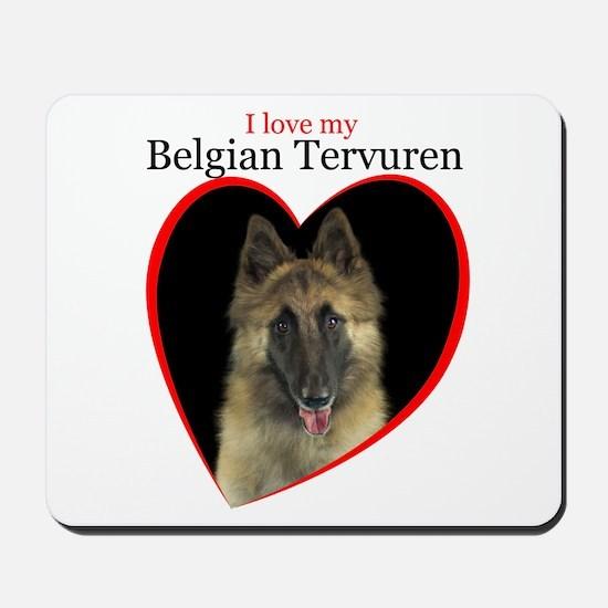 Belgian Tervuren Mousepad