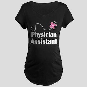 Physician Assistant Maternity Dark T-Shirt